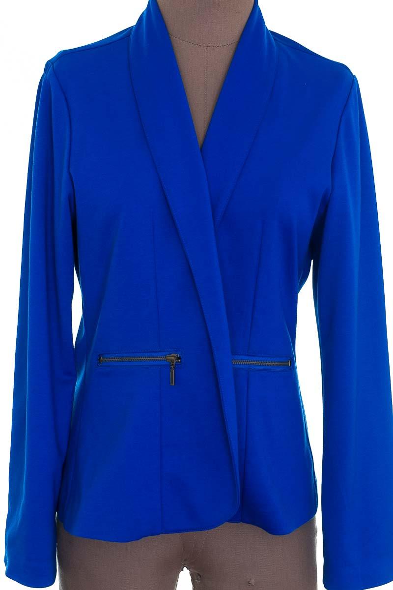 Chaqueta / Abrigo color Azul - MARCELA JARAMILLO