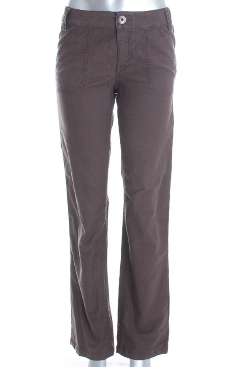 Pantalón color Café - Esprit