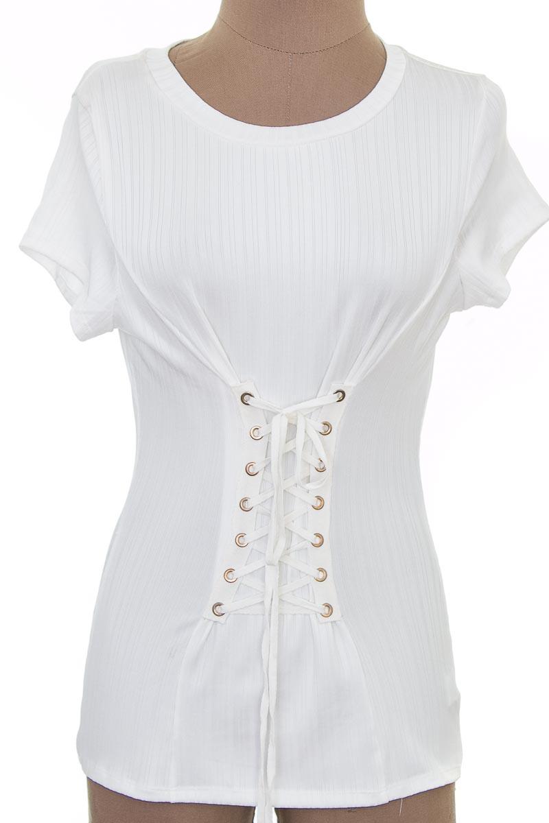 Blusa color Blanco - Love J