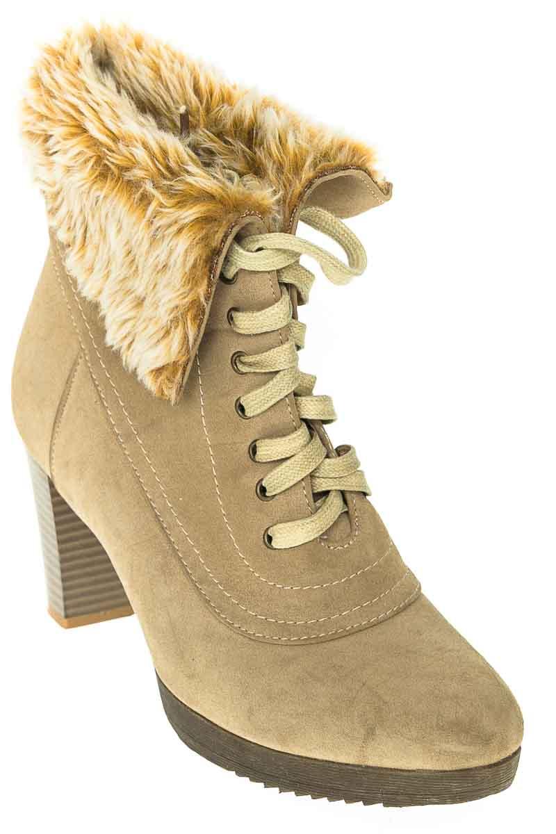 Zapatos Botín color Beige - Exss
