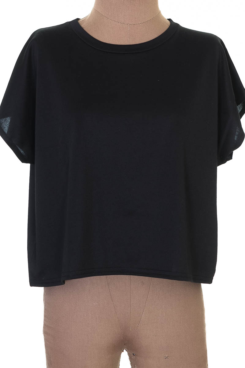 Blusa color Negro - Femme Luxe
