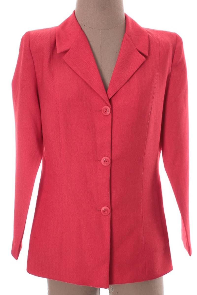 Chaqueta / Abrigo color Rojo - Simonetta