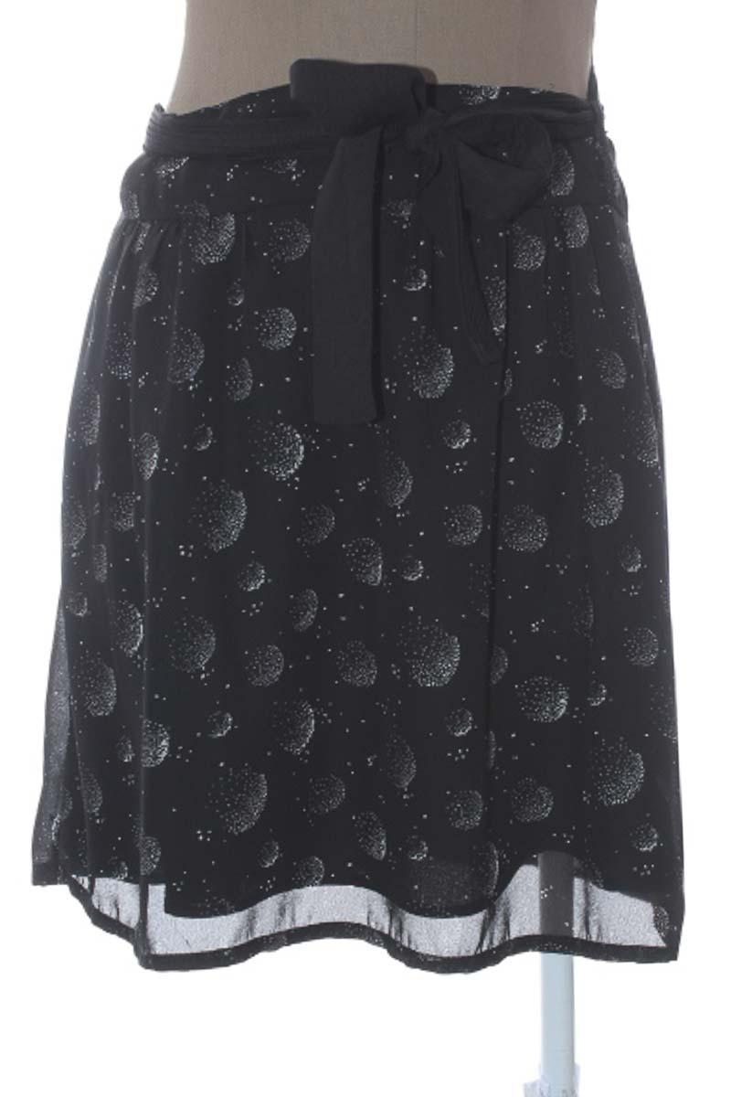 Falda Casual color Negro - Armi