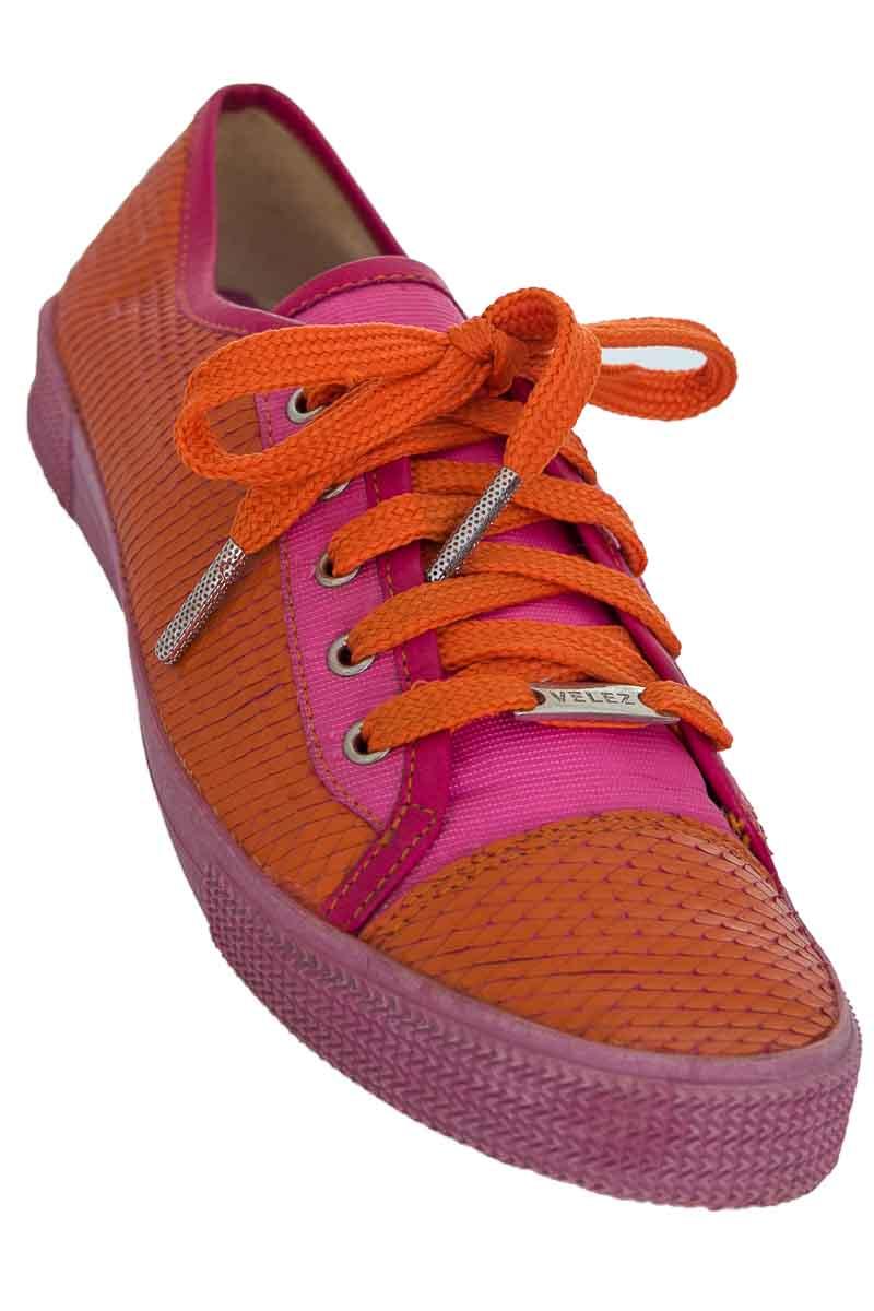 Zapatos color Naranja - Vélez