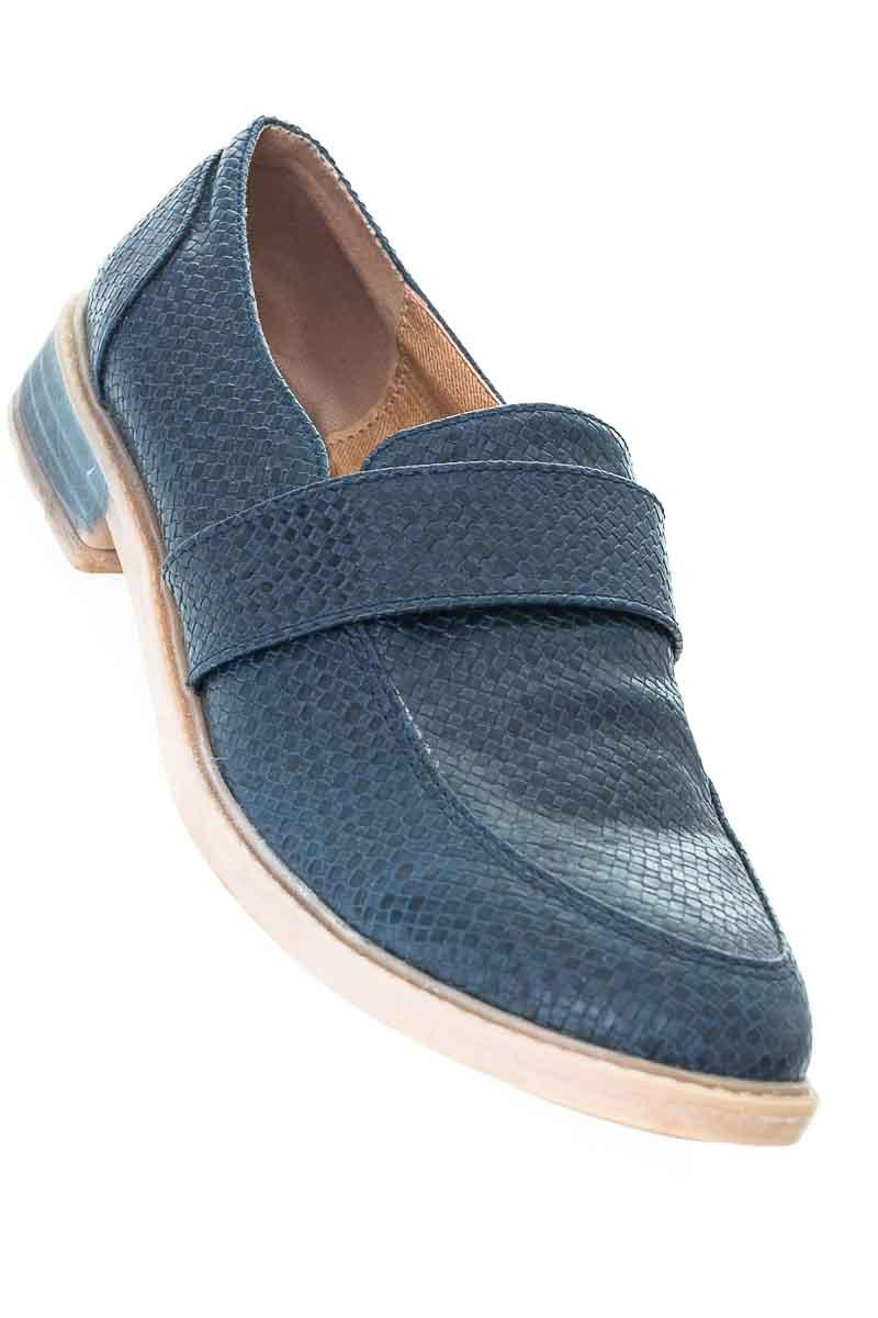 Zapatos Baleta color Azul - Triunfo