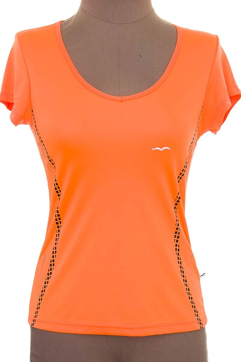 Ropa Deportiva / Salida de Baño Camiseta color Salmón - Creaciones Kikes Sport