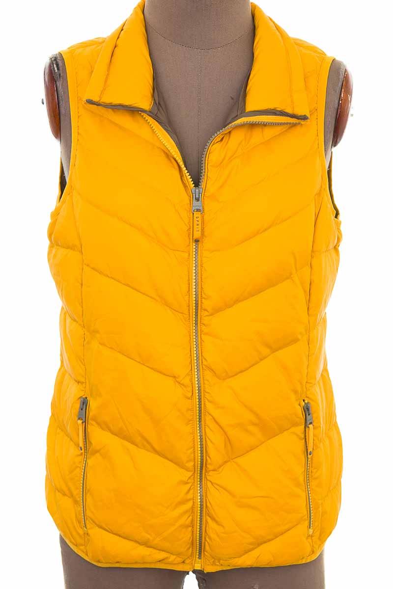 Chaqueta / Abrigo color Amarillo - Esprit