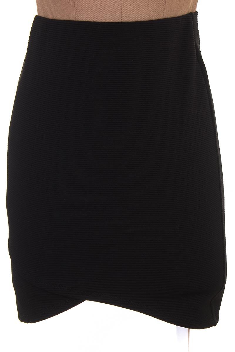 Falda Casual color Negro - Joe Benbasset