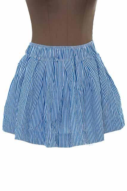 Falda Casual color Azul - BCILU
